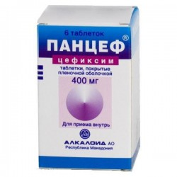 Панцеф, табл. п/о пленочной 400 мг №6